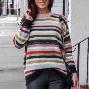 Chicwish striped sweater